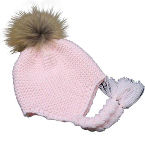 baby-hut-winwintomr-kleinkind-baby-ohrenschutzer-strickte-warme-winter-sauglingskappe-hut-rosa