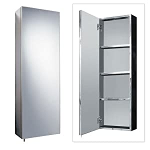 bathroom cabinet storage 900 x 300 stainless steel wall