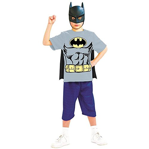 DC Originals: Batman Shirt Kids Costume Kit - Small
