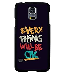 printtech Cool Quotes Back Case Cover for Samsung Galaxy S5 Mini::Samsung Galaxy S5 Mini G800F