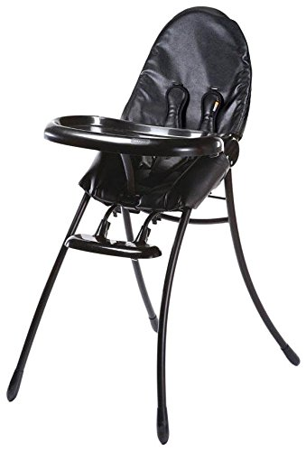 Bloom Nano Urban Highchair, Matt Black/Midnight Black - 1