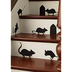Martha Stewart Crafts Mice Silhouettes