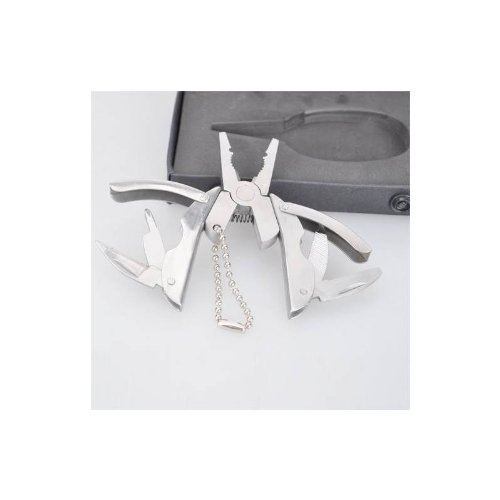Multifunction Knife Pliers Keychain With Gift Box