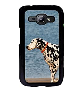 Dalmatian Dog Back Case Cover for SAMSUNG GALAXY J1 100H