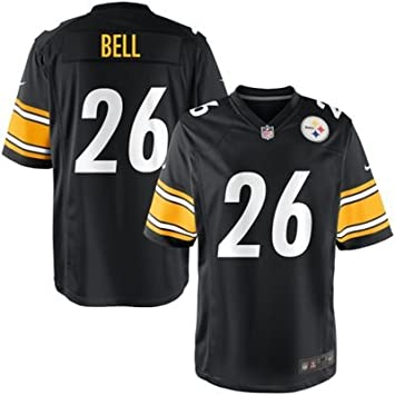 Le'Veon Bell Pittsburgh Steelers NFL Adult Black Game Jersey