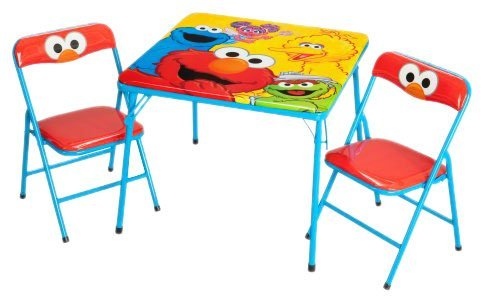 Delta Enterprise Sesame Street Activity Table And Chair