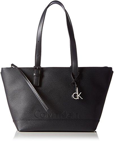 Calvin Klein - MELISSA MEDIUM  TOTE, Borse da donna, black, OS