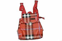 Maimona Handbags Red Sling Handbags Buckle Fixture Best College Bags