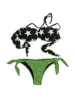 4giveness Bikini (Verde / Negro)