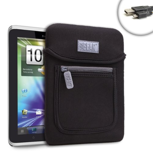 Foul Neo-Cushion Protective Tablet Cover Sleeve for HTC Flyer / Lenovo Ideapad A1 / Dell Streak 7 / Samsung Galaxy 7.0 And and More 7-inch Tablets