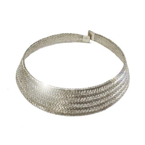 Silver Grecian Necklace