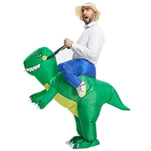 TOLOCO - Inflatable Dinosaur T-REX Adult Fancy Dress Costume