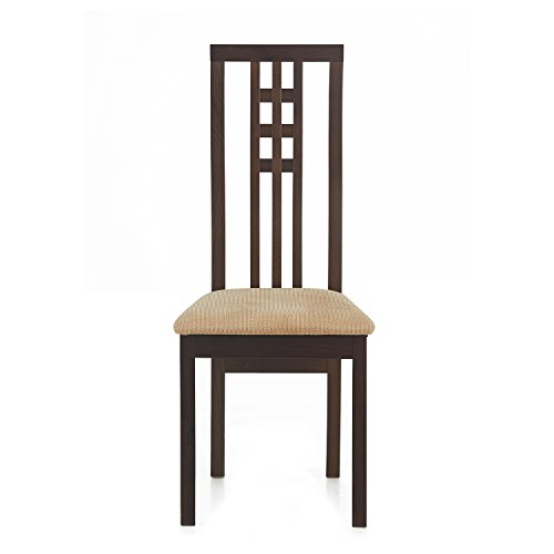 @home by Nilkamal FIDCBRUNIWCCSBCH Dining Chair (Beige)