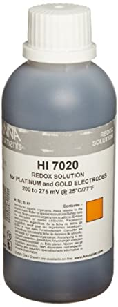 Hanna Instruments HI 7020M ORP Test Solution, 200/275mV, 230mL Bottle