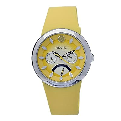 Philip Stein Women's F43S-M-Y Quartz Stainless Steel Yellow Dial Watch