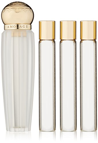 Amouage Reflection, Eau de Parfum da viaggio con ricariche, 4 x 10 ml
