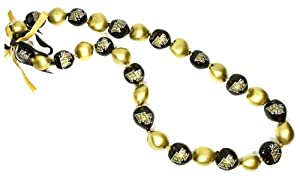 Buy NCAA Wake Forest Demon Deacons Go Nuts Kukui Nut Lei Necklace by Style Pasifika