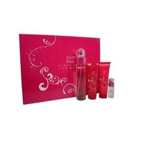 perry-ellis-360-pink-for-women-gift-set-eau-de-parfum-spray-34-ounce-lotion-shower-gel-eau-de-parfum