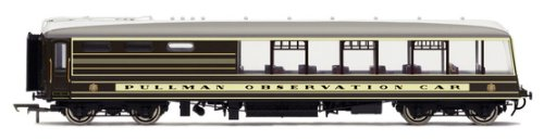 Hornby R4437 Devon Belle Observation Car (circa 1947) 00 Gauge Coach Rolling Stock