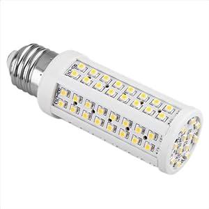 CroLED® LAMPADA LAMPADINA E27 108 LED SMD BIANCO CALDO 3600K 5W   recensioni