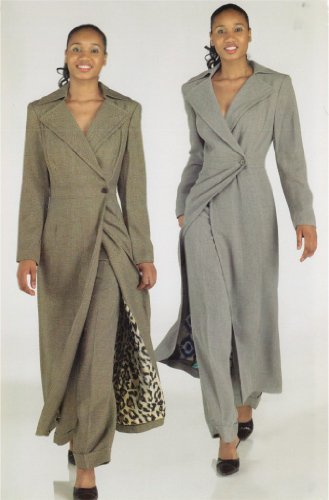Style New York Paris Long Jacket Wool Pant Suit