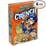 Cap'n Crunch Peanut Butter Crunch Cereal 14 Oz. (Pack of 6)