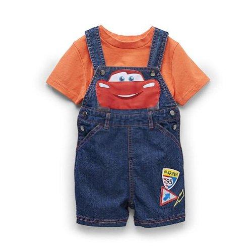 Disney Baby Cars Mcqueen Toddler Boy's Overalls