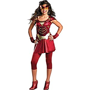 Click to buy Teen Girls Ironette Costume - Iron Man 2from Amazon!