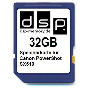 dsp-memory-4051557402751-de-z-32-gb-carte-memoire-pour-canon-powershot-sx510