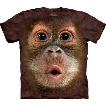 The Mountain T-Shirt - Big Face Baby Orangutan 3Xl front-876931