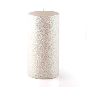Zest candle pillar candle 3 by 6 inch for Shimmer pillar candle