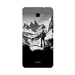 Skintice Designer Back Cover with direct 3D sublimation printing for Coolpad Dazen 1