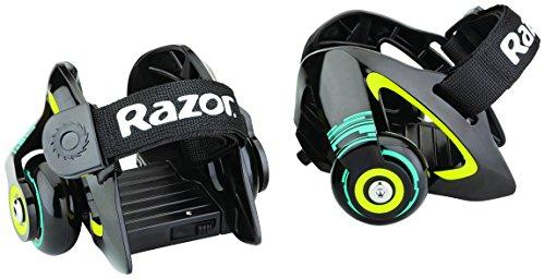 Razor Jetts Heel Wheels Roller, Verde, 12.6 X 12.8 X 8.99