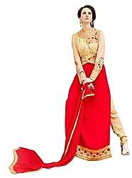 Surbhi Fashion-SDVI-SHEEBA10715-Designer Semi Stitched Dress Material