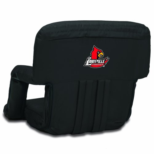 NCAA Louisville Cardinals Ventura Portable Reclining Seat, Black at Amazon.com