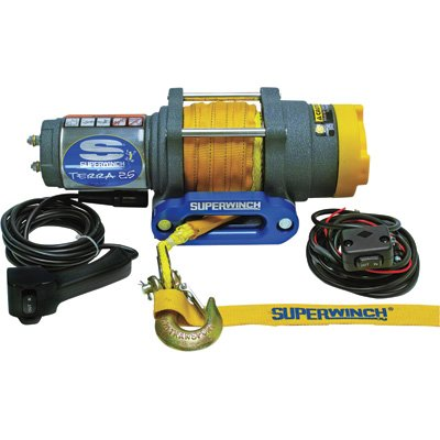 Superwinch 1125230 Terra 25 2500lb Winch with Synthetic Rope