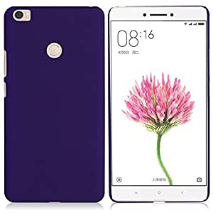 Case Creation Matte Finish Frosted Back Shell Case Guard Protection For Xiaomi Mi Max / Xiaomi Mimax - 6.44 Inch Color - Party Purple