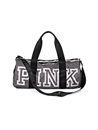 Victoria\'s Secret PINK Gym Duffle Tote Bag (Grey marl)