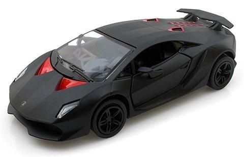 Lamborghini Sesto Elemento Matte Black 1:38 Scale