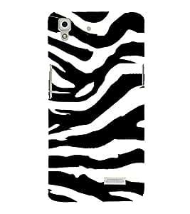 Tiger Pattern 3D Hard Polycarbonate Designer Back Case Cover for Oppo R7 :: Oppo R7 Lite