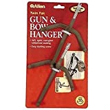 Allen Company Two Pack Card of Triple Bow Hangers by Allen Allen
