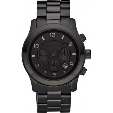 Michael Kors MK8157 Mens Black Chronograph Watch