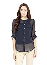 Raindrop's Women's Shirt(980B-Dark Grey-XL)