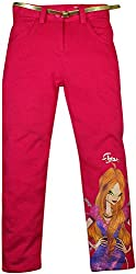 Winx Club Girls 7-8 Years Trouser (Pink)