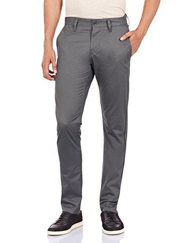 G-Star Bronson Slim Chino - Pantaloni Uomo, Grau (Carbid), W36/L36
