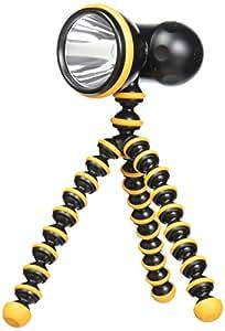 Joby Gorillatorch Adjustable and Flexible Tripod Flashlight, Orange