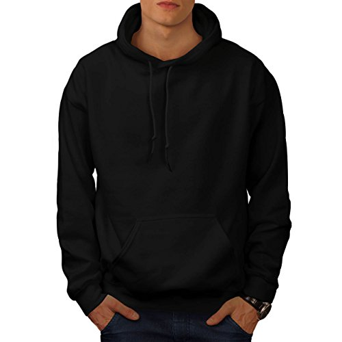 cracked-wood-panda-timber-style-men-new-black-xl-hoodie-back-wellcoda