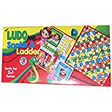 RASHMI TOYS MINI SNAKE ,LUDO AND LADER GAME FOR KIDS (PACK OF 1)