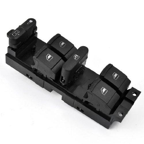 Car Power Window Panel Master Console Control Switch For Vw Volkswagen 1999-2004 Mk4 Golf Jetta Bora 1998-2004 1999 2000 2001 2002 2003 2004 98 99 00 01 02 03 04 Passat B5