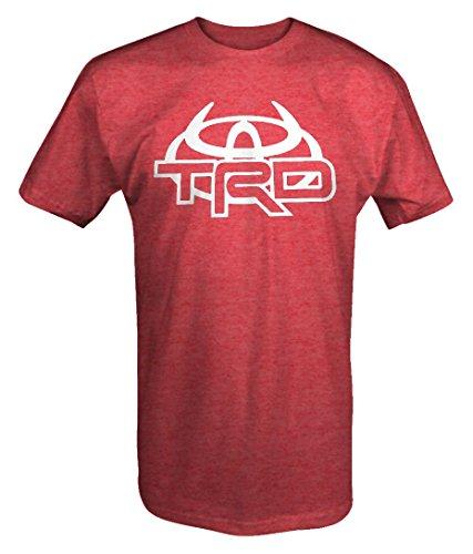 Toyota TRD Devil Horns Racing Development Emblem T shirt -Medium (Development Clothing compare prices)